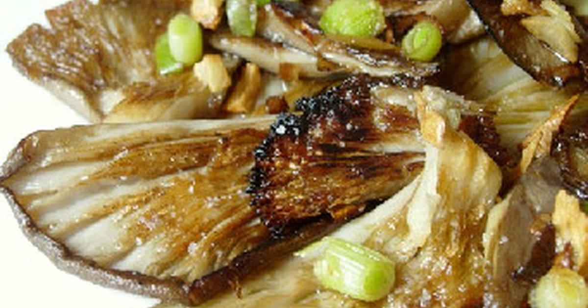 setas a la plancha receta de mis recetas cookpad