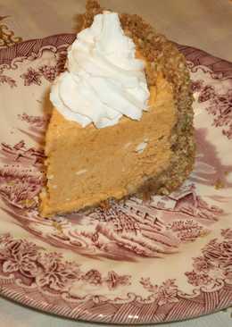 Cheesecake de calabaza  fácil y sin horno