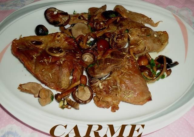 Chuletas de cordero al horno con romero receta de carme - Chuletas de cordero al horno ...