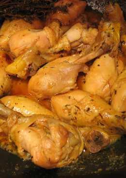 Muslos de pollo a la naranja 107 recetas caseras cookpad - Muslitos de pollo ...