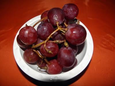 Uvas desecadas