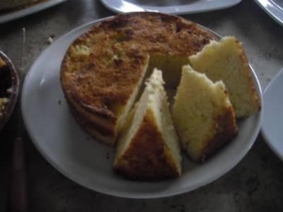 Pan de elote mexicano