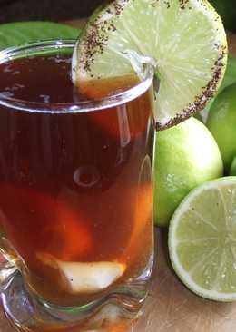 Café cubano con ron y lima