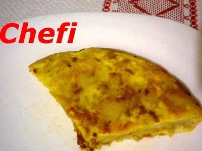 Tortilla de patatas Rafael