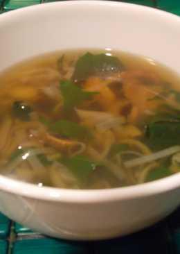 Sopa improvisada