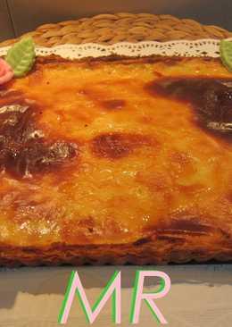 Tarta de sémola y queso (2 recetas)