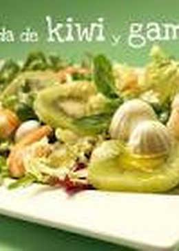 Ensalada de kiwis