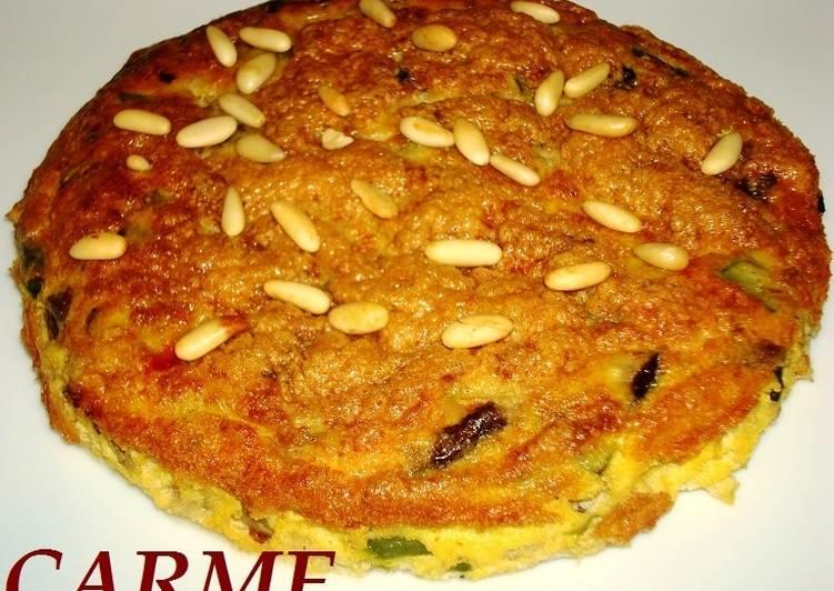 Pastel de setas y bacalao receta de carme castillo cookpad - Cocinar bacalao congelado ...