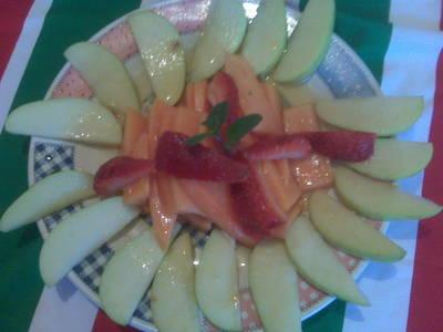 Ensalada frutas fresca casera