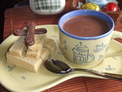 Chocolate caliente para Cuaresma