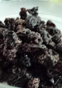 Pasas de uva bañadas con chocolate