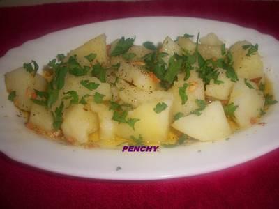 Patatas a lo pobre, económicas