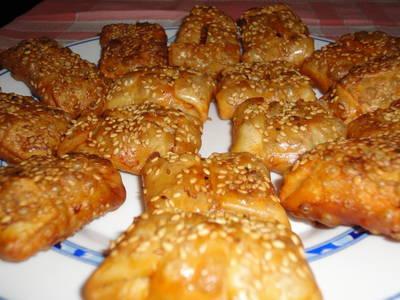 Empanadillas con aromas de la India