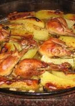 25 recetas de muslos de pollo al horno con patatas f ciles for Cocinar con 20 soles