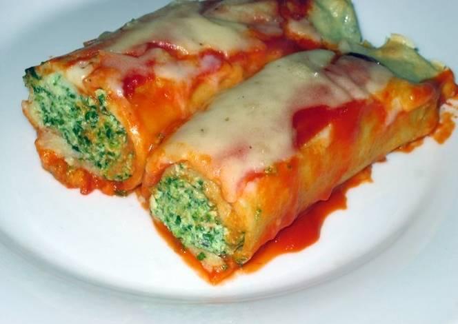 Canelones de verdura y ricota receta de cecibadamo cookpad - Fotos de canalones ...