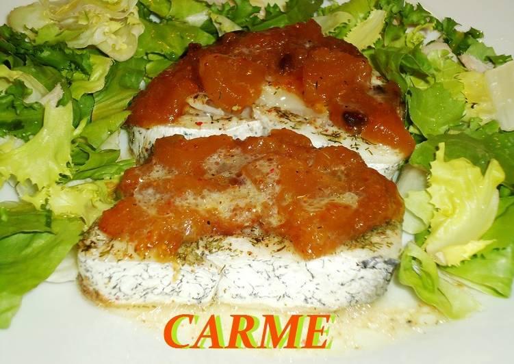 Merluza al horno muy f cil receta de carme castillo cookpad for Merluza al horno facil