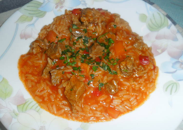 guiso de arroz receta de gabriela diez cookpad