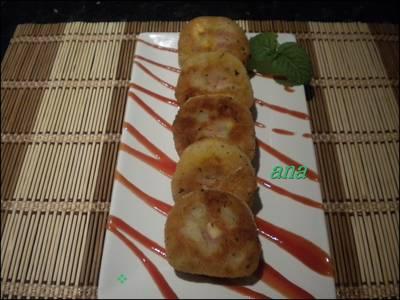 Bocaditos de patatas con jamón ibérico