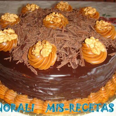 Baños o rellenos para torta de chocolate Receta de Norali - Cookpad