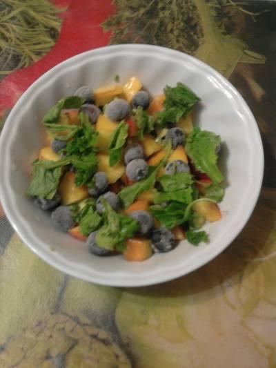 Ensalada agridulce de frutas