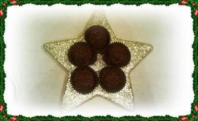 Trufas de chocolate con mascarpone