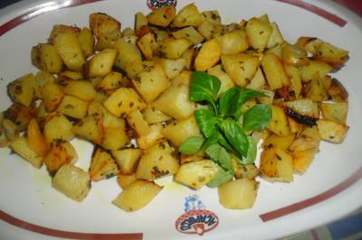 Patatas a la mostaza