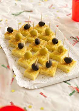 Aperitivos de tortilla