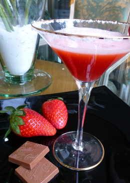 Cóctel rojo tequila