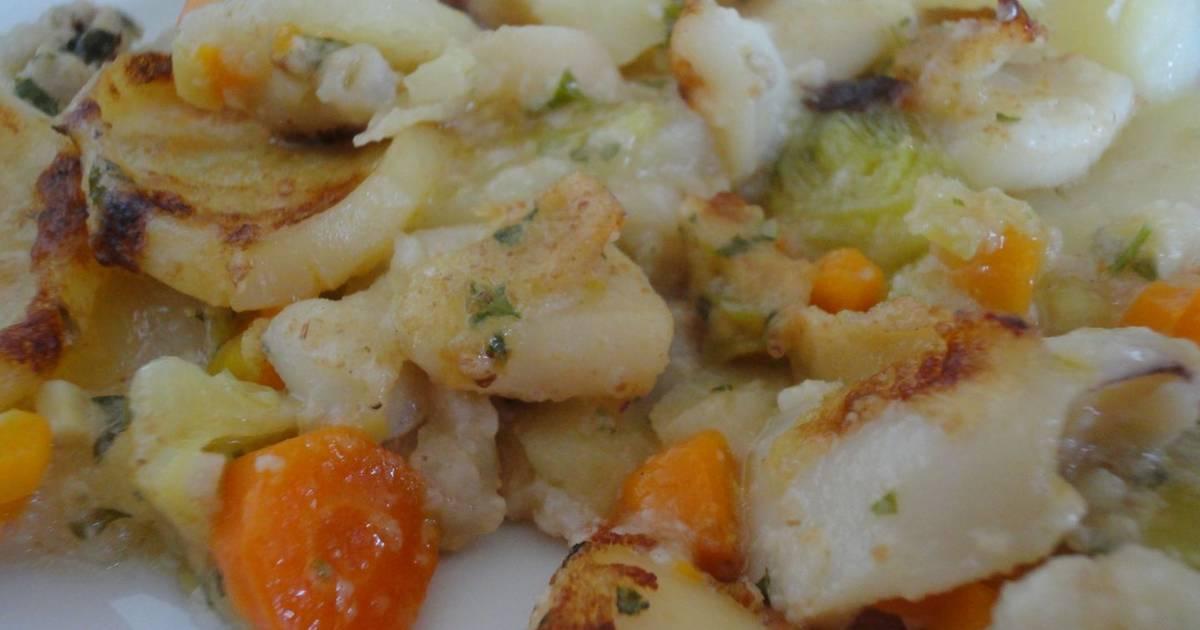Sepia con patatas al horno receta de rebekita cookpad - Patatas pequenas al horno ...