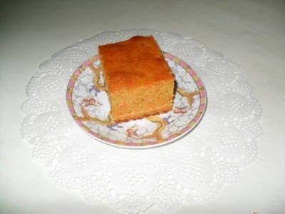 Torta de zanahoria con aceite
