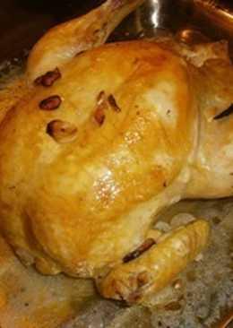 Pollo entero tradicional