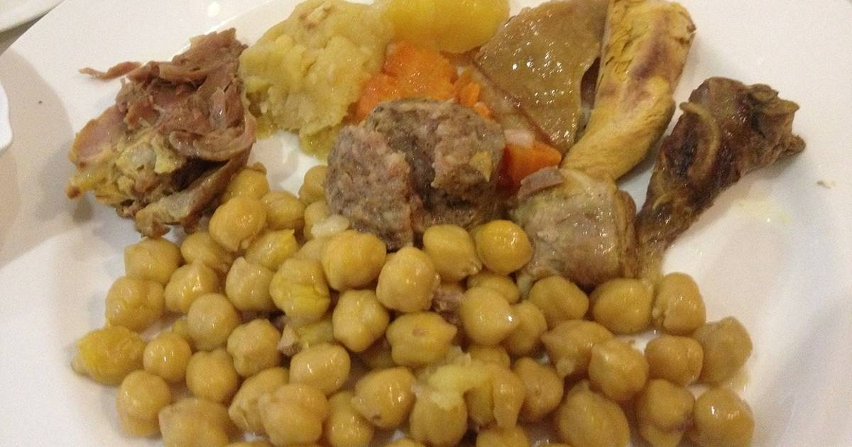 Cocido de garbanzos receta de fapiru cookpad - Preparacion de garbanzos cocidos ...