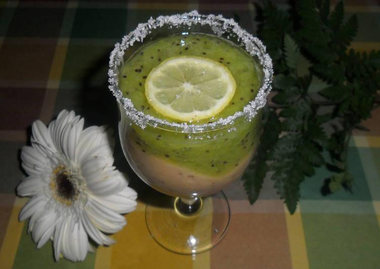 Batido de kiwi y pl tanos con alm bar receta de gabriela - Batidos de kiwi ...