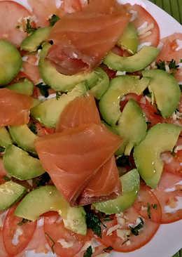 Salmon ahumado y aguacate 159 recetas caseras cookpad - Ensalada de aguacate y salmon ahumado ...