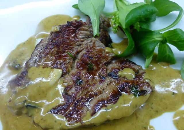 Solomillo de ternera con salsa de mostaza receta de - Solomillo de ternera al horno con mostaza ...