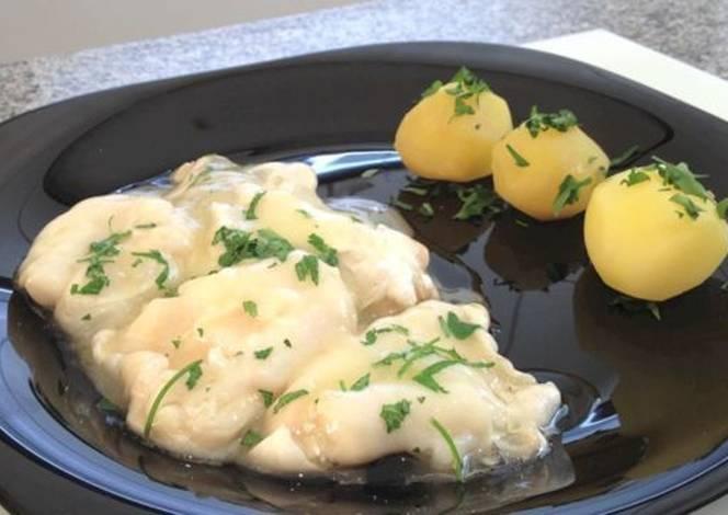 Cocochas bacalao al pil pil receta de elfornerdealella for Cocinar cocochas de bacalao