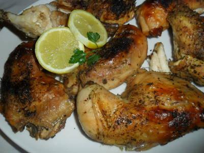 Pollo asado con patatas panaderas receta de equipo cookpad - Pollo al horno con limon y patatas ...