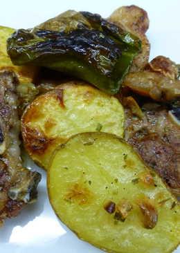 Chuletas al horno 187 recetas caseras cookpad - Chuletas de cordero al horno con patatas ...