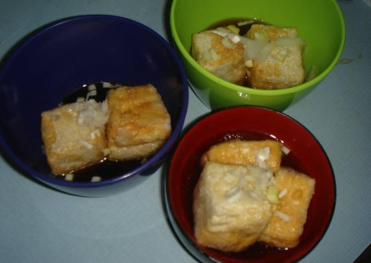 Age doufu  (tofú frito)