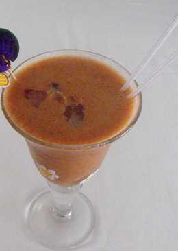 Granizado de cerezas y zumo de limón