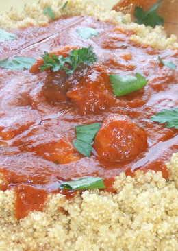 Albóndigas rápidas y fáciles con salsa casera