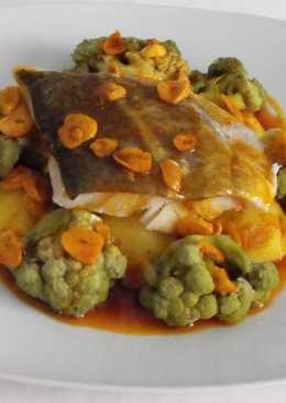 Brócoli con bacalao