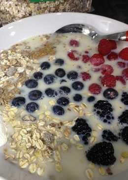 Desayuno lleno de energía y saludable
