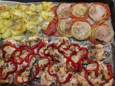 Pechuga de pavo al horno receta de almadanko cookpad - Pechugas de pollo al horno con patatas ...