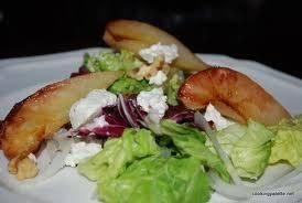 Ensalada de pera y Gorgonzola