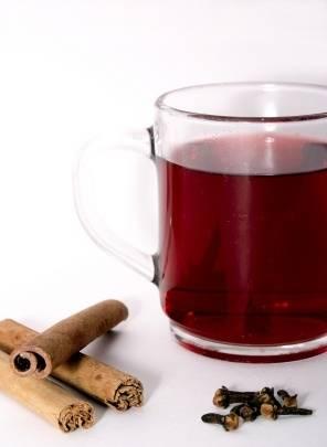 Té rojo de uva fermentada... calentito