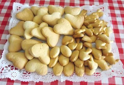 Galletas de nata y mantequilla