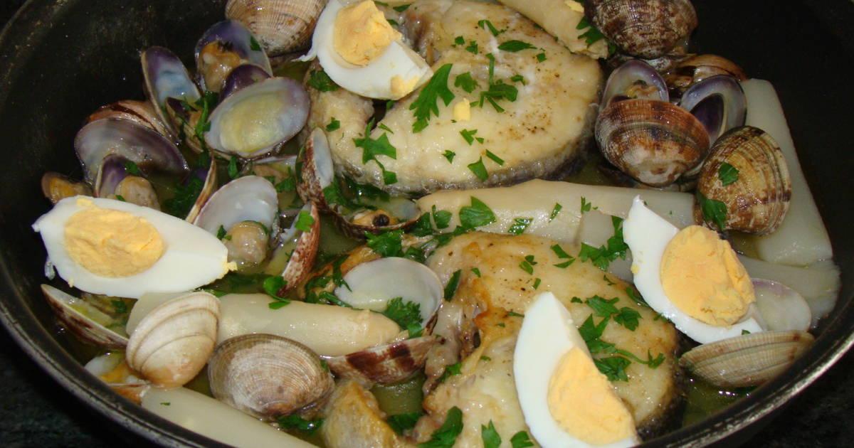 Merluza en salsa verde f cil receta de marisa marcos for Cocinar merluza a la vasca