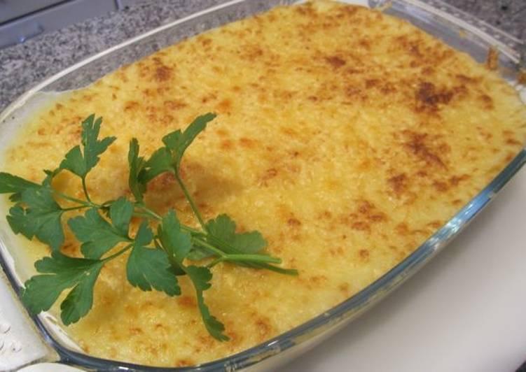 Gratinado de patatas con carne picada y queso receta de - Gratinado de patata ...