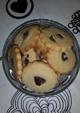 Galletas rápidas con chocolate